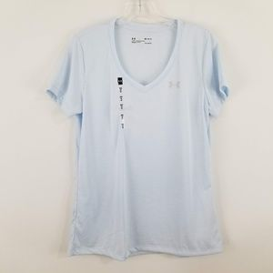 Under Armour Women's V Neck Athletic Shirt New